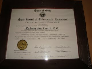 Ohio Certification Certificate